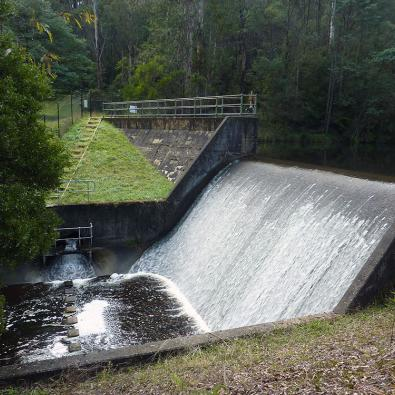 Environmental water release at Starvation Creek
